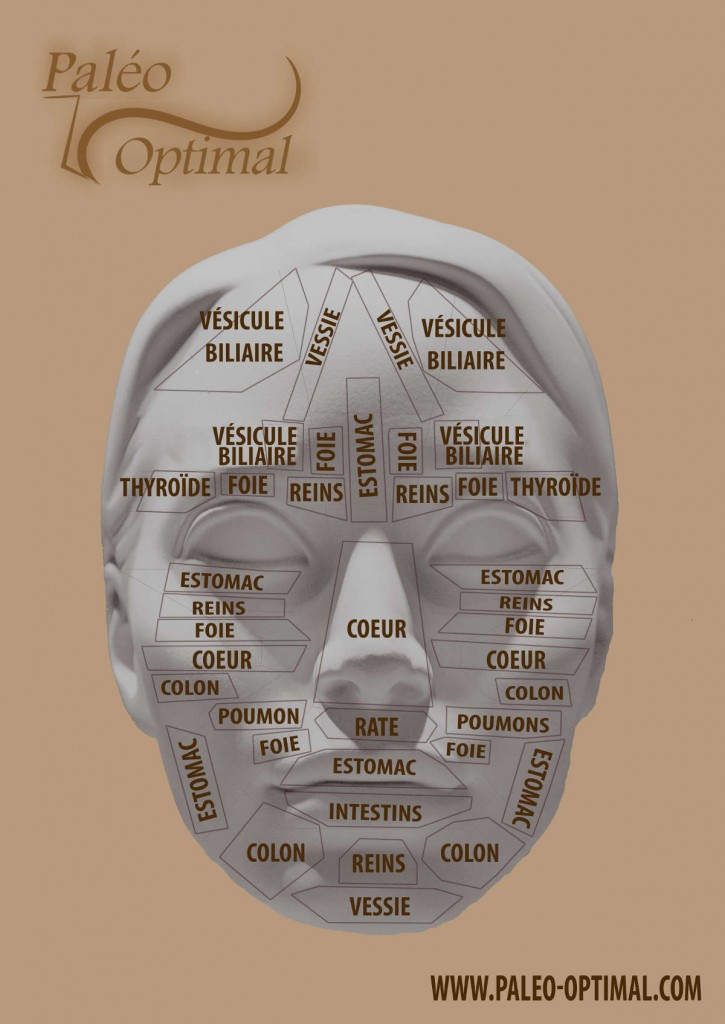 Méridiens et reflexologie du visage